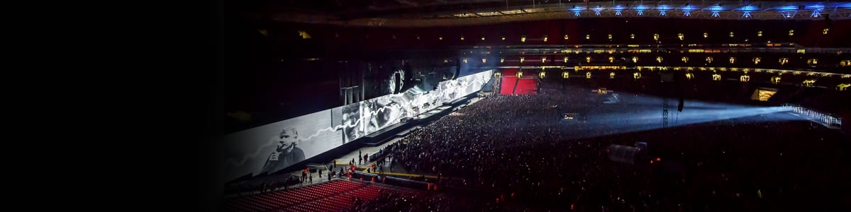 Rental and staging - Roger Waters